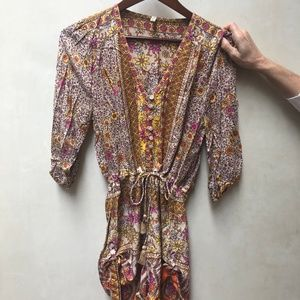 SPELL & THE GYPSY COLLECTIVE Floral Romper